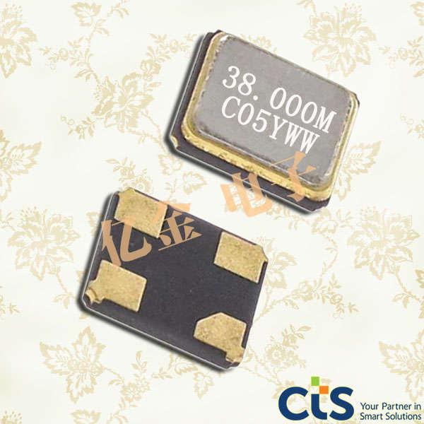 CTS晶振,有源晶振,632晶振,632L3I027M00000晶振