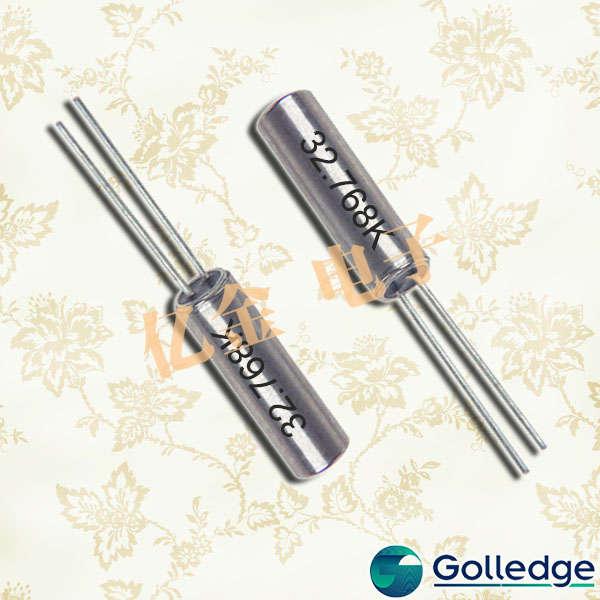 golledge晶振,圆柱晶振,GWX-26晶振,GDX-1晶振