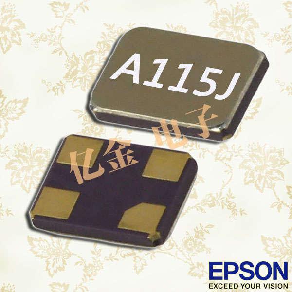 爱普生晶振,石英晶体谐振器,FC-12D晶振,FC-12D-32.7680KA-AG8晶振