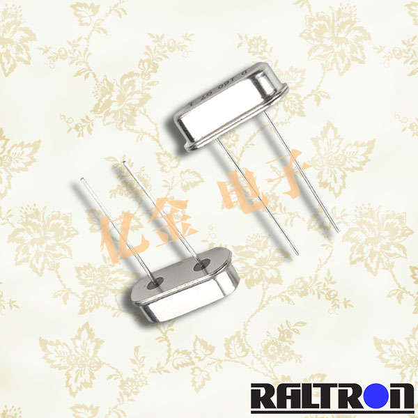 Raltron晶振,石英晶体谐振器,HC-49/S晶振