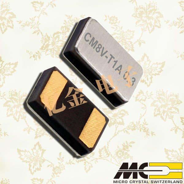 瑞士微晶晶振,32.768K音叉晶体,CM8V-T1A晶振