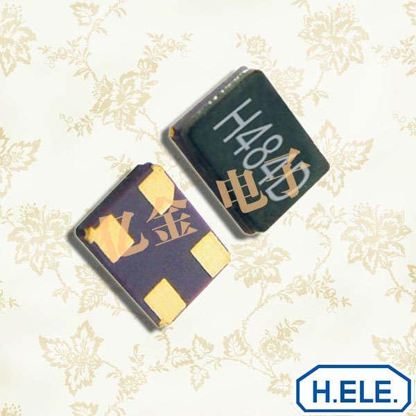 加高晶振,HSX321G晶振,陶瓷面贴片晶振