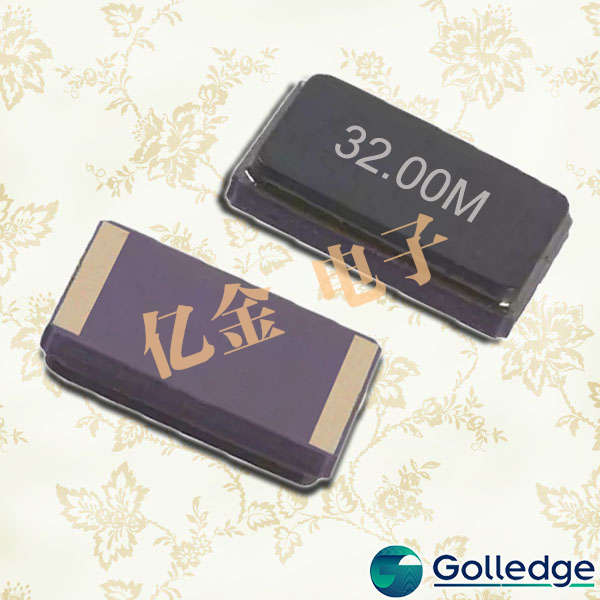 Golledge晶振,CC6F晶振,两脚贴片晶振