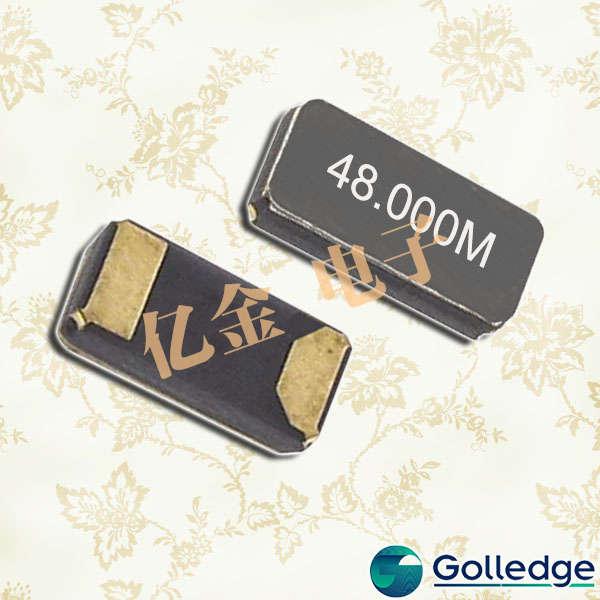 Golledge晶振,3215贴片晶振,CC7A晶振
