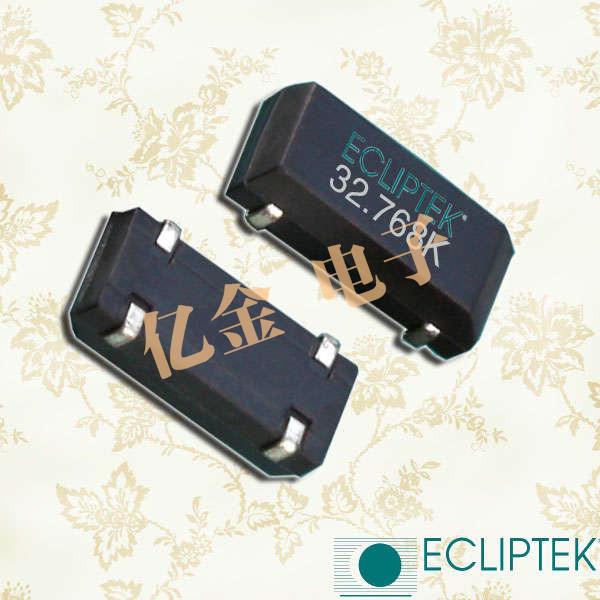ECLIPTEK晶振,石英晶体谐振器,E1WSDA12-32.768K晶振,E1WSDA晶振
