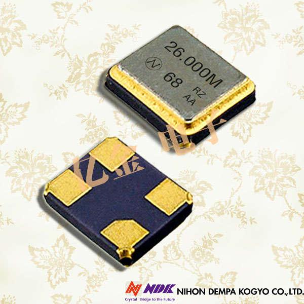 NDK晶振,石英晶振,NX2520SA晶振,NX2520SA-16MHZ-STD-CSW-4晶振