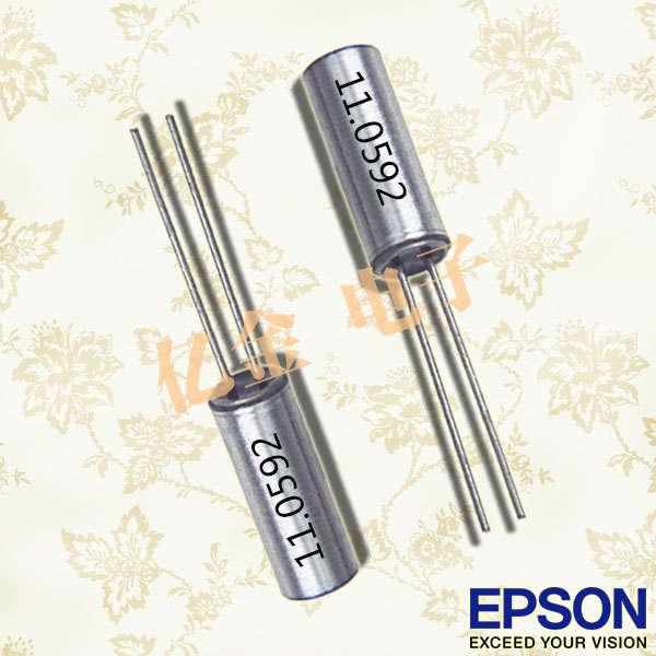 EPSON晶振,圆柱晶振,CA-301晶振,CA-301-6.0000M-C:PBFREE晶振