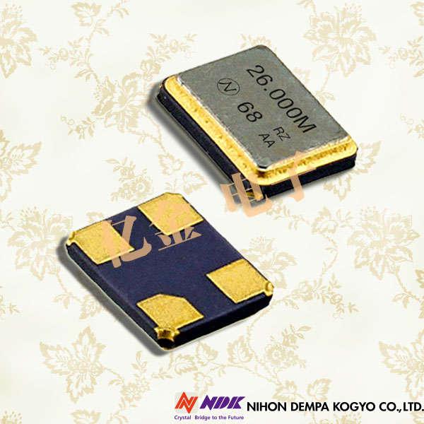 NDK晶振,石英晶振,NX3225SA晶振,NX3225SC晶振,NX3225SA-24.000MHZ-STD-CSR-1晶振