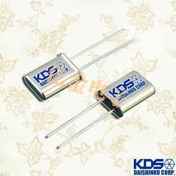 KDS晶振,石英晶振,HC-49U晶振