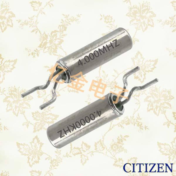 西铁城晶振,圆柱晶振,CMR309T晶振,CMR310T晶振,CMR309T48.000MABJTR晶振