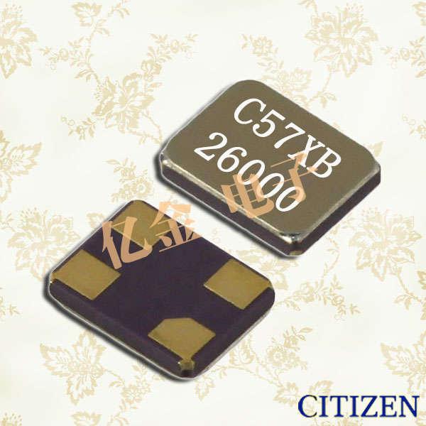 西铁城晶振,石英晶振,CS325晶振,CS325S晶振,CS325H晶振,CS325S25000000ABJT晶振