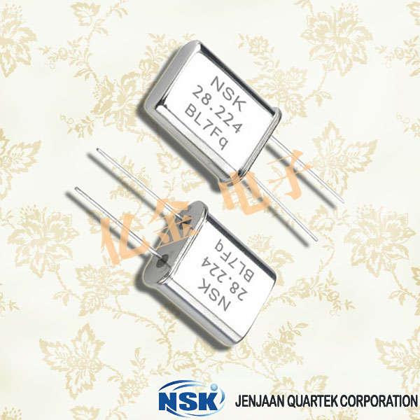 津绽晶振,石英晶振,NXU HC-49U晶振