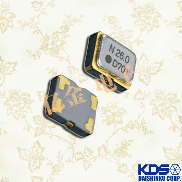 KDS晶振,温补晶振,DSB211SDM晶振,1XXD26000JHC晶振