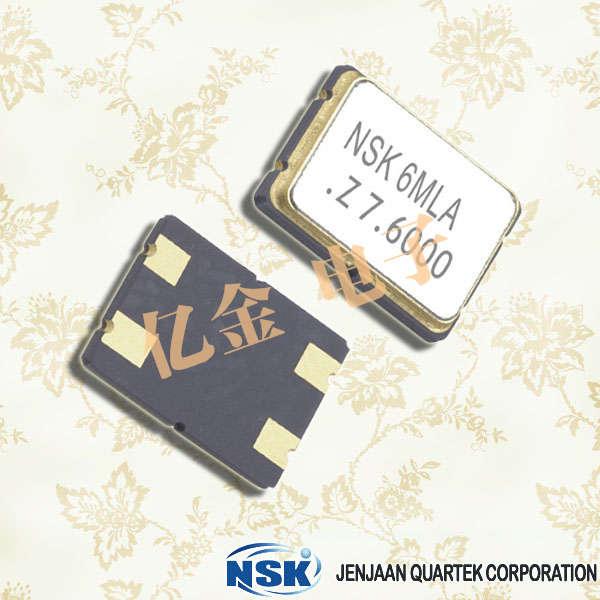 NSK晶振,石英晶振,NXD-75晶振