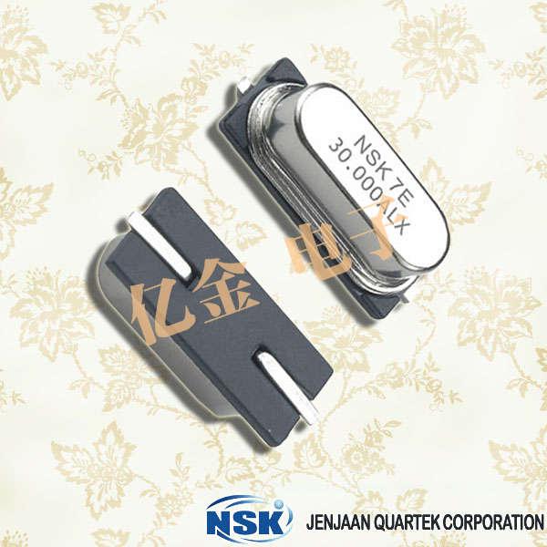 NSK晶振,石英晶振,NXE晶振