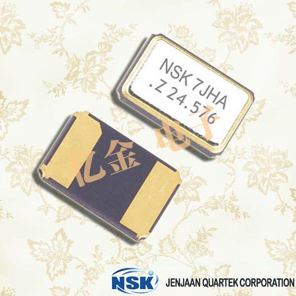 津绽晶振,石英晶振,NXH-53-AP2-SEAM晶振