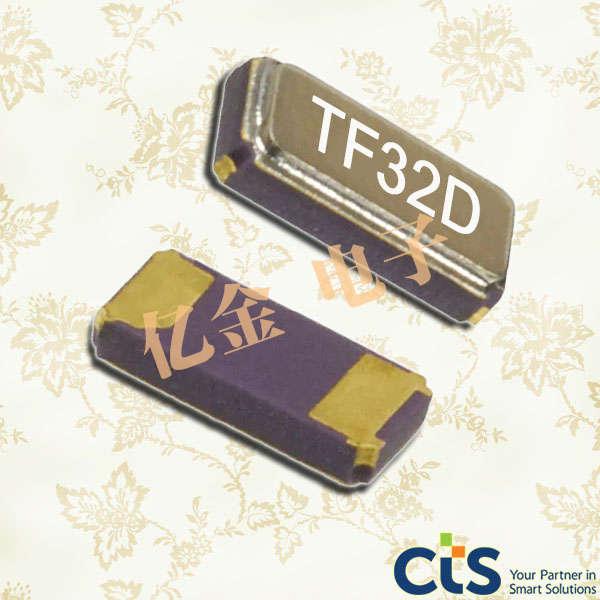 西迪斯晶振,贴片晶振,TF32晶振,TF322P32K7680R晶振,TFA32晶振,TFE32晶振