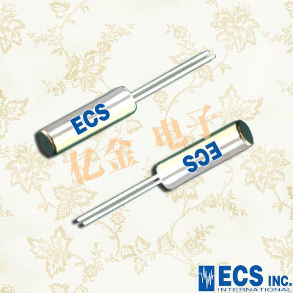 ECS晶振,圆柱晶振,ECS-2X6X晶振,ECS-.327-12.5-13X晶振
