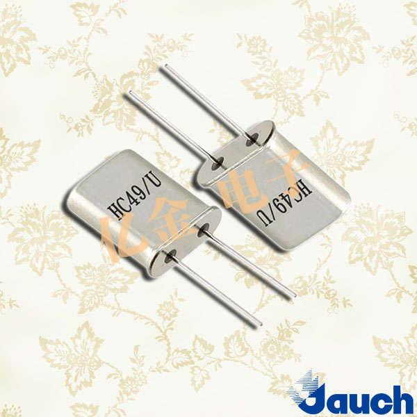 德国Jauch晶振,石英晶体,HC49-U晶振
