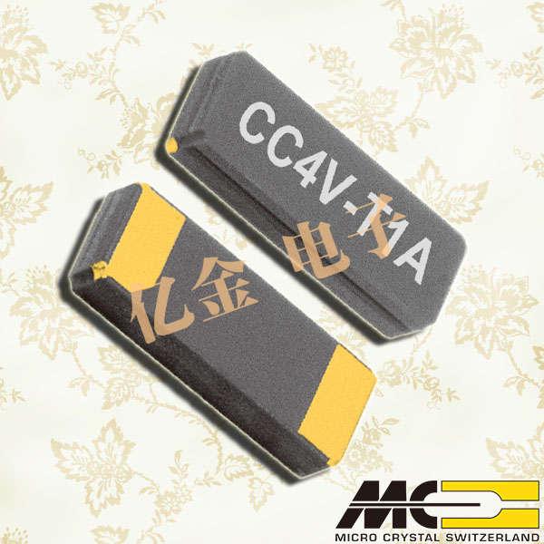 瑞士微晶晶振,贴片晶振,CC4V-T1A晶振