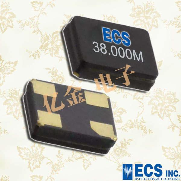 ECS晶振,贴片晶振,ECX-1637晶振,ECX-1637Q晶振,ECS-250-10-37Q-ES-TR晶振