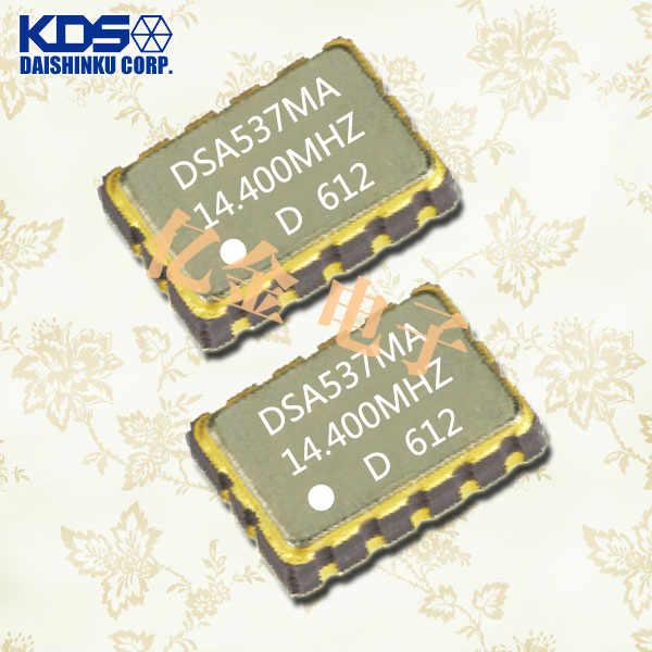 KDS晶振,压控温补晶振,DSA537MA晶振