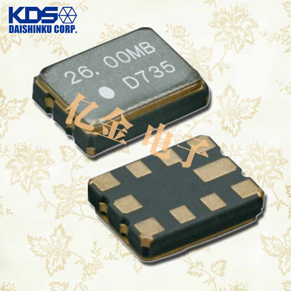 日本大真空晶体,压控温补晶振,DSA322MB晶振,DSA322MA晶振
