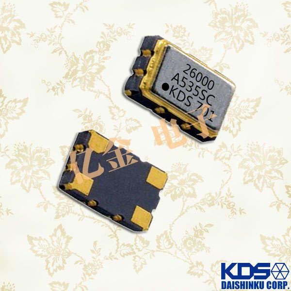 日本大真空晶体,石英晶体振荡器,DSB535SC晶振