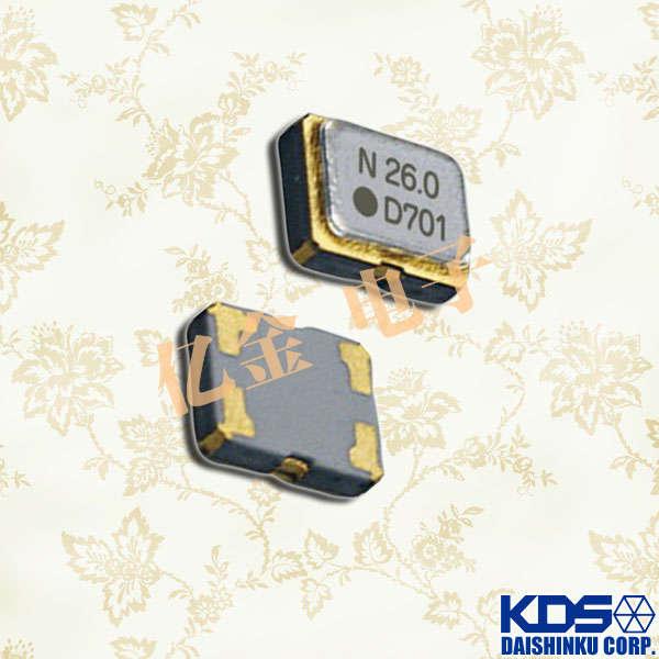 日本大真空晶体,温补晶振,DSB321SCA晶振