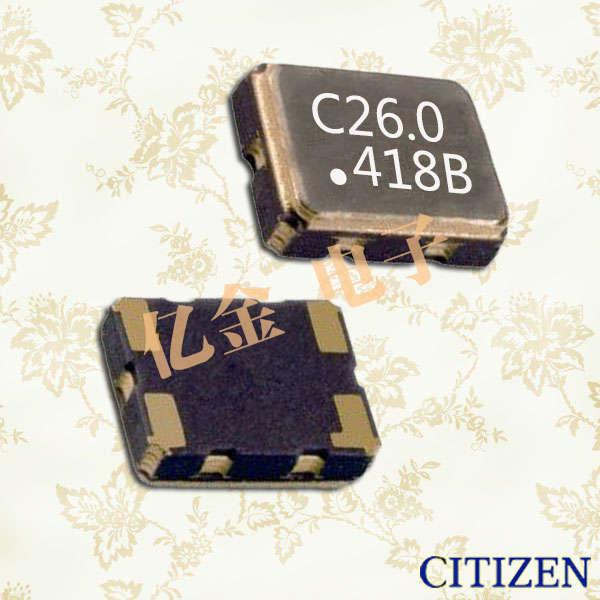 西铁城晶振,石英晶体振荡器,CXS-325T晶振