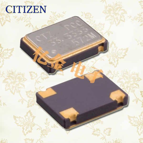 西铁城晶振,贴片晶振,CSX-750P晶振