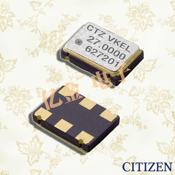西铁城晶振,贴片晶振,CXS-750V晶振,有源晶振