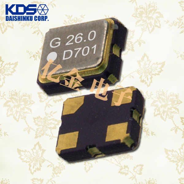 日本大真空晶振,VC-TCXO晶振,DSA211SDA晶振