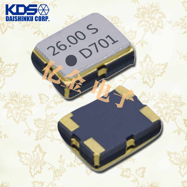 日本大真空晶振,石英晶体振荡器,DSA321SDA晶振