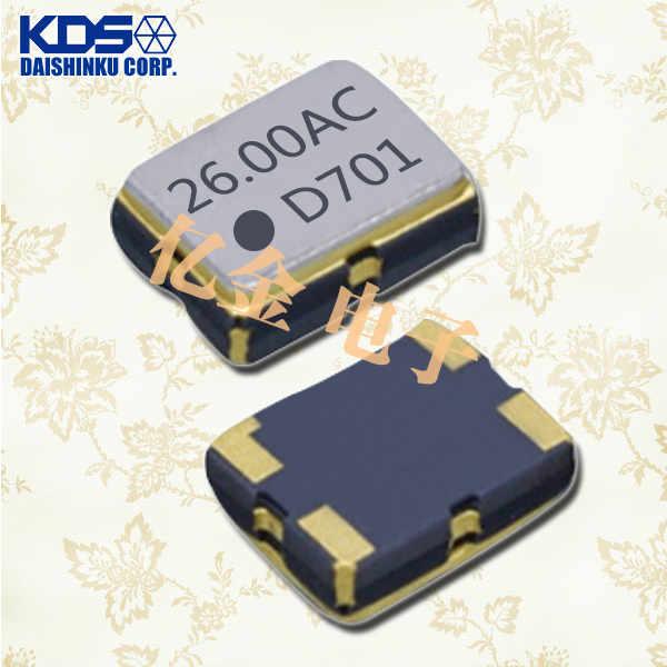 KDS晶振,压控温补晶振,DSA321SCM晶振