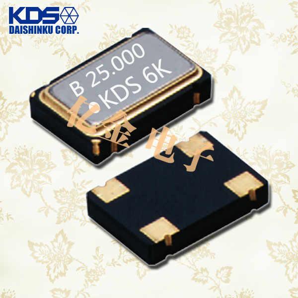 日本KDS晶振,石英晶体振荡器,DSO751SV晶振