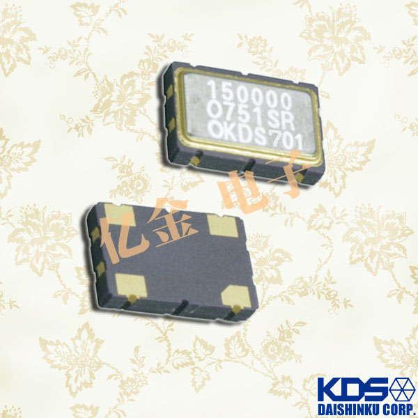 日本大真空晶体,贴片晶振,DSO751SR晶振