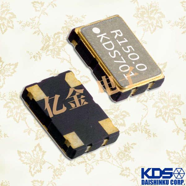 日本大真空晶体,石英晶体振荡器,DSO531SR晶振