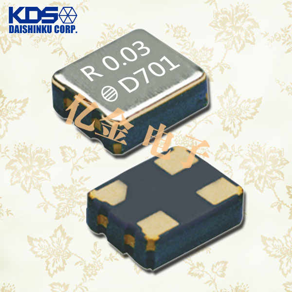 日本KDS晶振,石英晶体振荡器,DSO221SR晶振