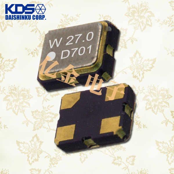 日本KDS晶振,石英晶体振荡器,DSO321SW晶振