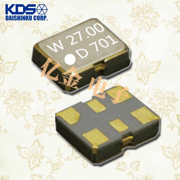日本大真空晶振,石英晶体振荡器,DSO213AW晶振