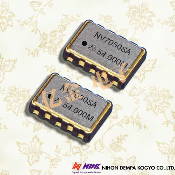 NDK晶振,VCXO晶振,NV7050SF晶振,CMOS输出压控晶振