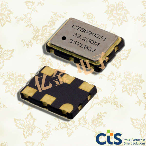 CTS晶振,压控晶振,353晶振,HCMOS输出晶体振荡器
