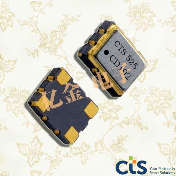 美国西迪斯晶振,压控温补晶振,525晶振,VC-TCXO晶振