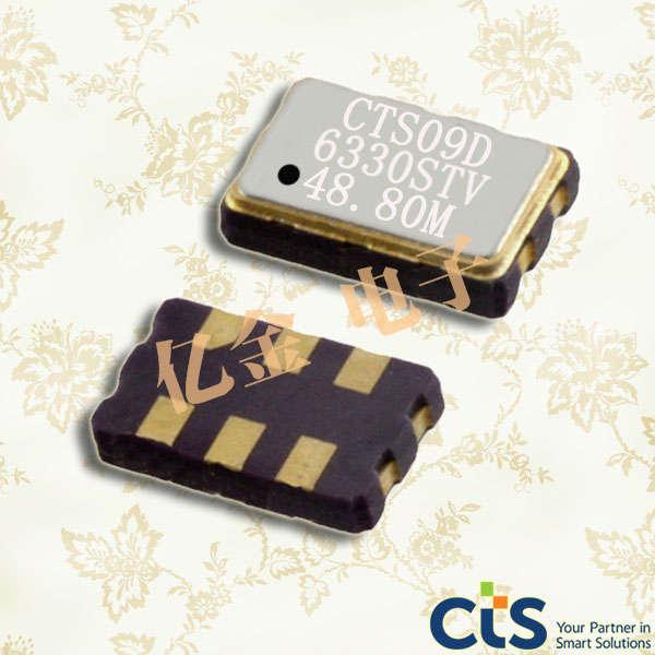 CTS晶振,差分晶振,633晶振,LVDS差分输出晶振