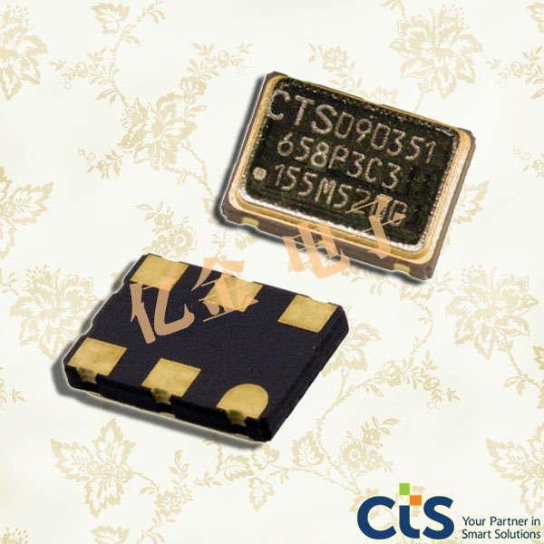 CTS晶振,石英晶体振荡器,658晶振,多输出差分晶振