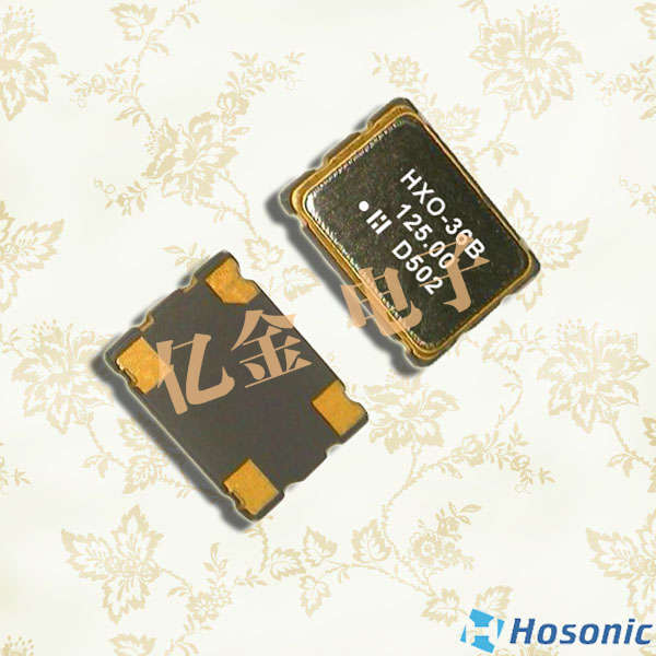 HOSONIC晶振,压控晶振,D3SV晶振,3225压控晶体振荡器