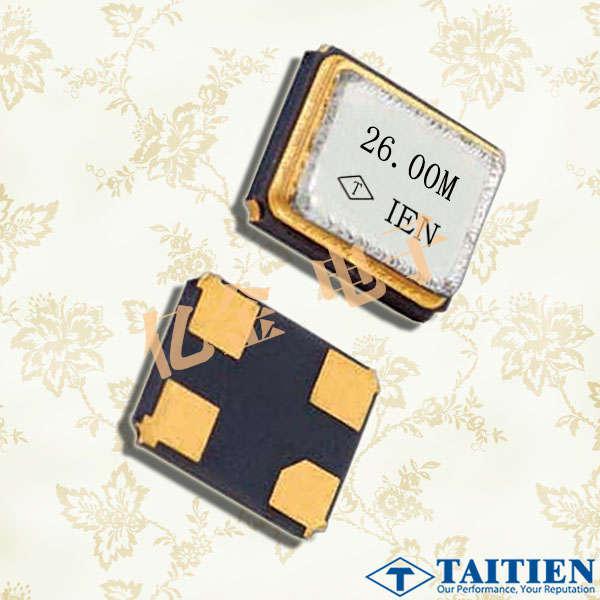 Taitien晶振,XXDGHHPANF-20.000000晶振,3225小体积晶振